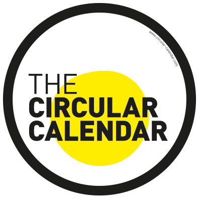 The Circular Calendar for the year 2019