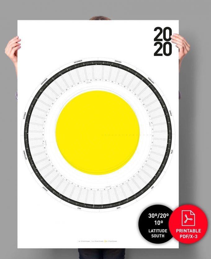 The Circular Calendar 2020