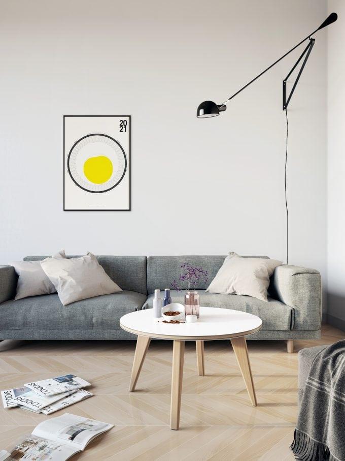 Circular Calendar 2021